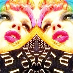 Carrie Gates - Rainbow Goth