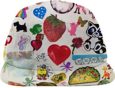 PAOM- Carrie Gates - 1980s Stickerbook Cap