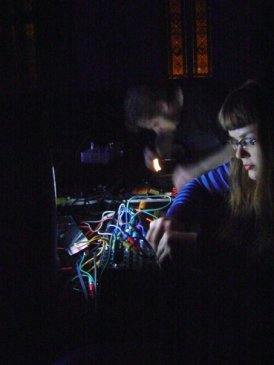 Carrie Gates and Sean Lamothe - Live at the Electric Fields Festival 2008