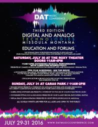 DAT Electronic Music Conference 2016 - Education and Forums