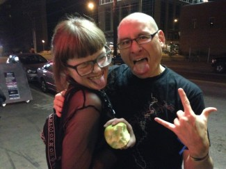 DAT Electronic Music Conference 2016 - Carrie Gates and Richard Devine - Photo by Jerry Abstract