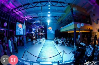 Saskatoon Fashion and Design Festival Runway with Visuals by VJ Carrie Gates - 2015