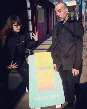 Street Lipo - Carrie Gates and Lewis Casey - Drone Day at Paved Arts - May 27 2017