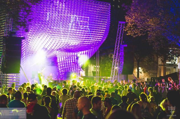 The Cube at MEME Festival in Winnipeg