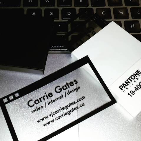 Carrie Gates - Business Card 2017