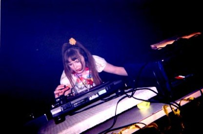 Lady Gates (Carrie Gates) DJing at a Rave in Regina in the Late 90s