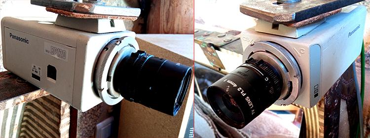 SDI Panasonic surveillance camera VW-BP120