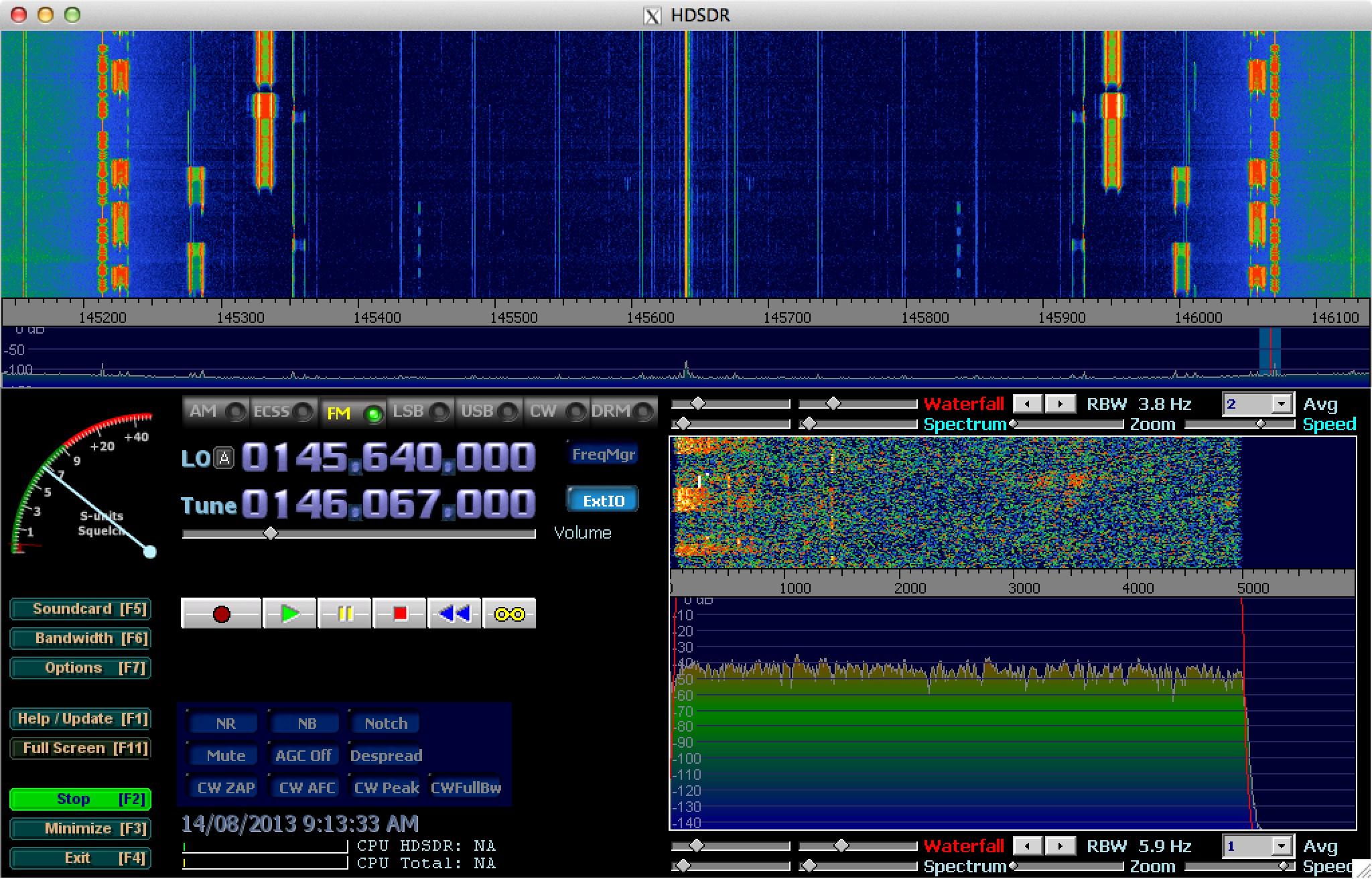 TV Tuner SDR on a Mac! - VK3BQ