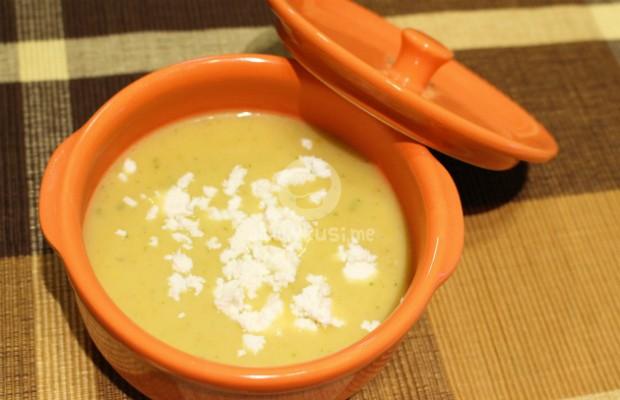 Крем супа с печен чесън