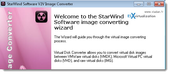 Free Conversion Tools to convert VHD, VMDK disk files | kb4you - A