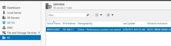 IIS on remote server
