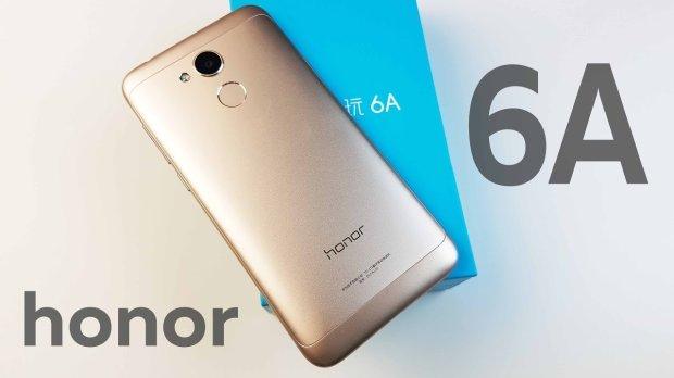 В России начали продавать бюджетный смартфон Huawei Honor 6A