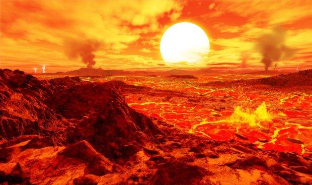 Астрономы обнаружили планету с облаками из титана в атмосфере