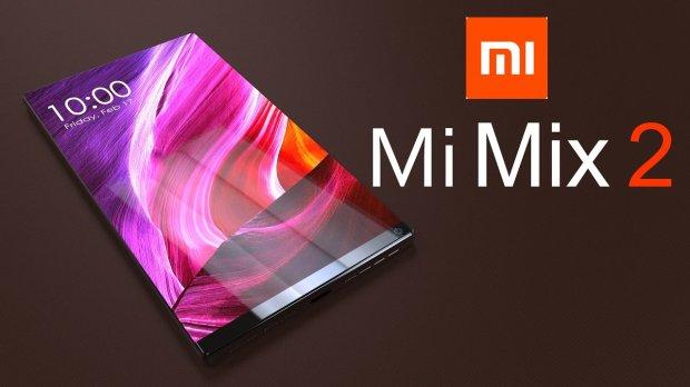 Безрамочный смартфон Xiaomi Mi Mix 2 выходит в России