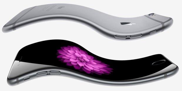 Смартфоны iPhone получат изогнутый экран и бесконтактное управление