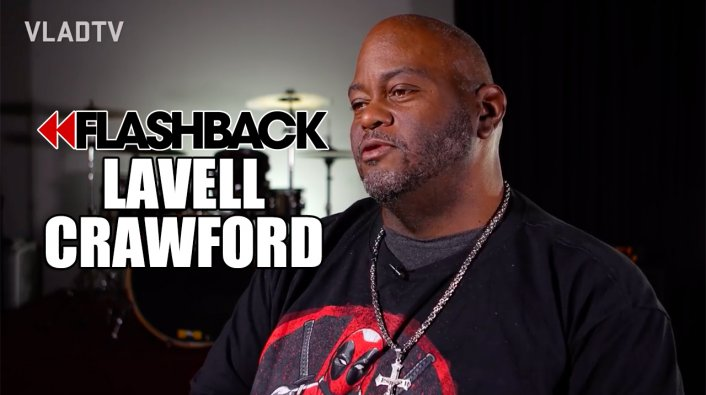 Comedian Black Crawford Lavell