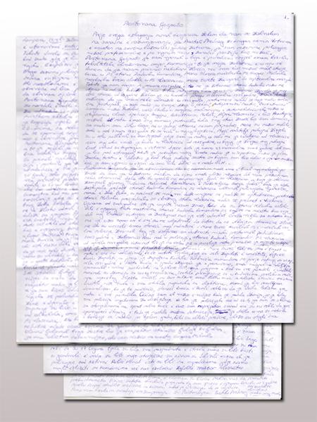 Predrag Bastah Pisma