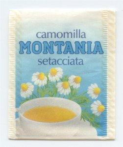 Heřmánkový čaj zpředu...