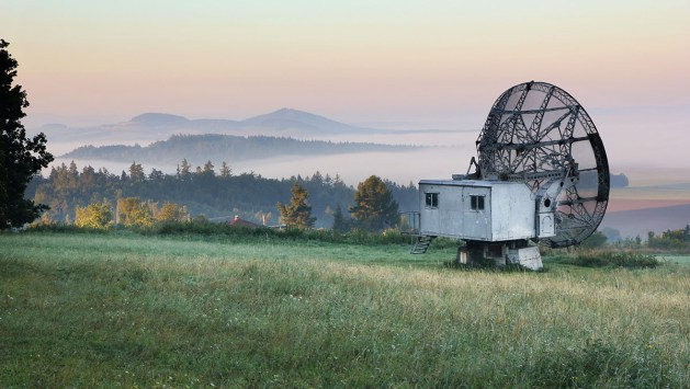 Podzim na radarové louce