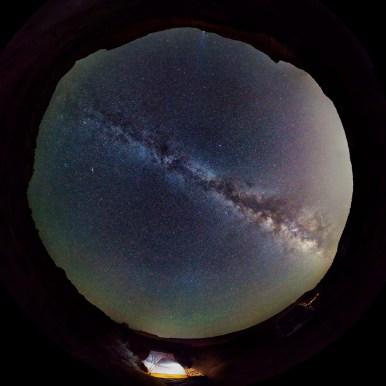 Noční obloha Utah
