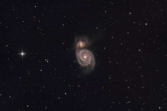 Vírová galaxie M51