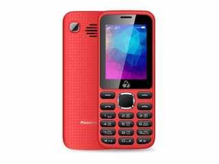 POWERTECH Κινητό Τηλέφωνο PTM-08 , Dual Sim, Multimedia, 2800mAh,Dual Sim, Multimedia, 2800mAh, κοκκινο ανω λιοσια