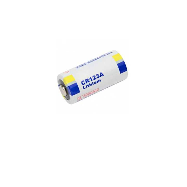 Μπαταρια λιθιου CR123A 3V ανω λιοσια,καματερο,μενιδι