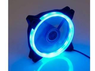 Ανεμιστηρας με μπλε φωτισμο ψυξης κουτιου ανω λιοσια