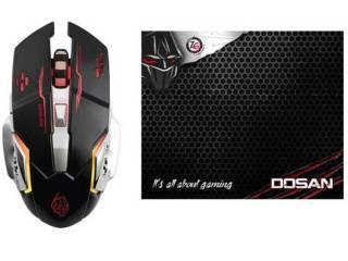 Gaming Mouse Φωτιζομενο και Gaming Mousepad