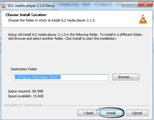 vlc media player setup free download