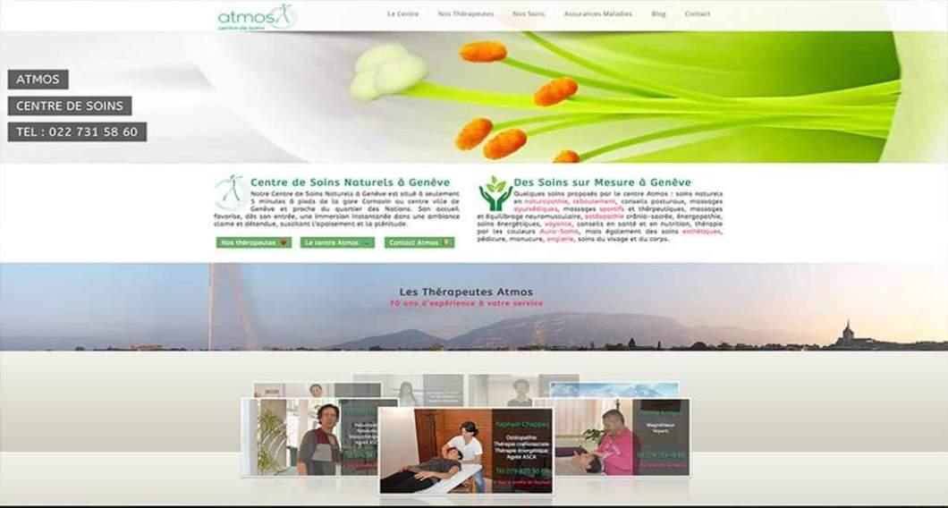 creation site web centre soins geneve