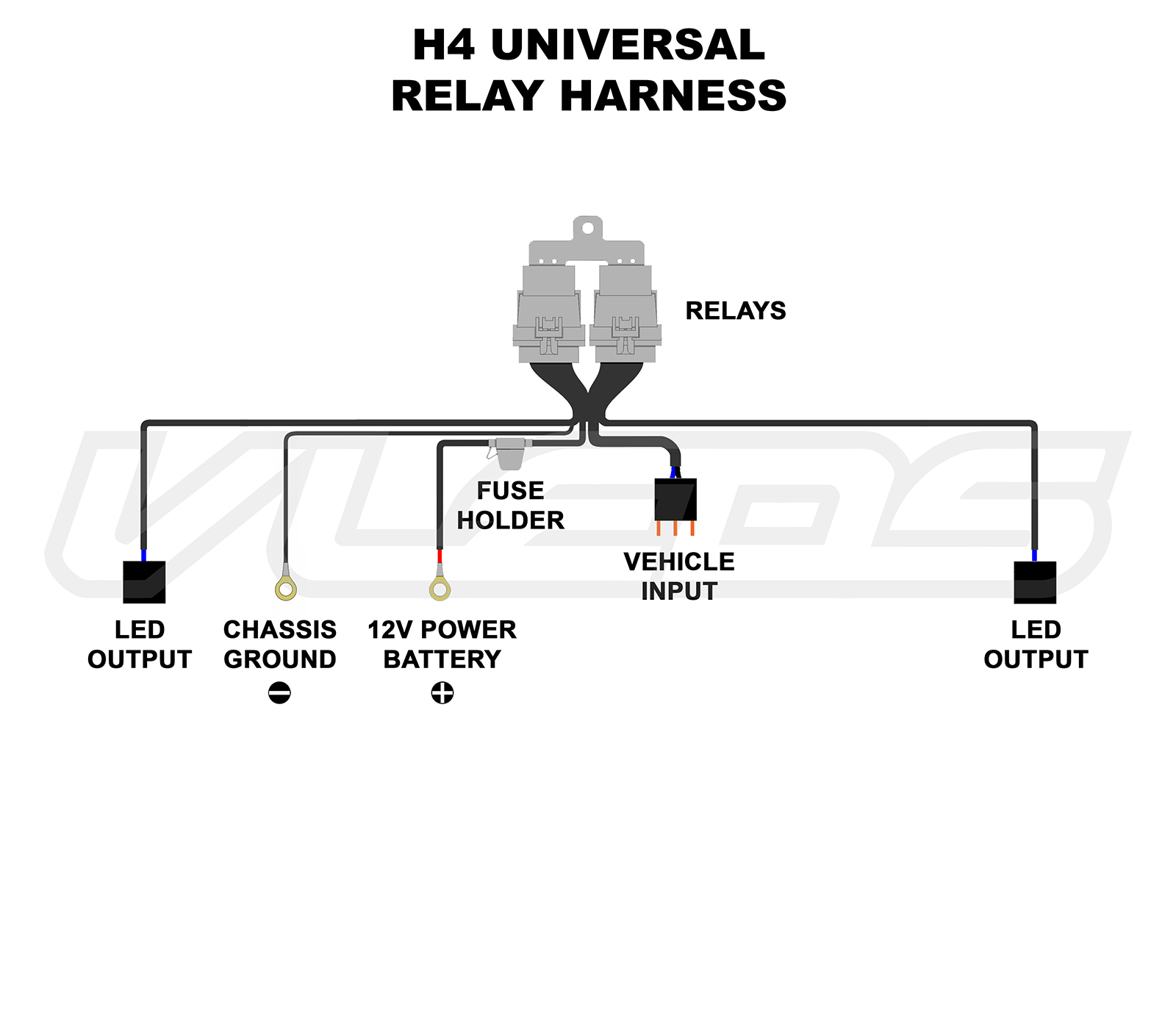 H4 Bulb Wiring Diagram