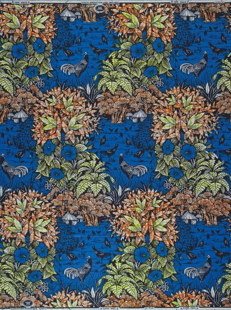 Village Molokai   Vlisco African / Ankara fabric names