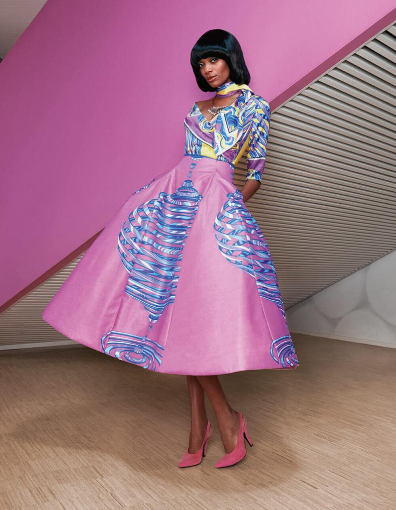 Vlisco Lookbook Swinging 60's