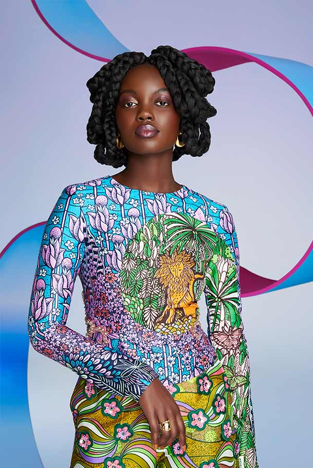 Vlisco City of Joy Fashionlook 01