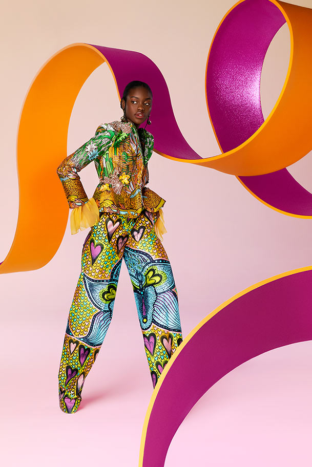 Vlisco City of Joy Fashionlook 07