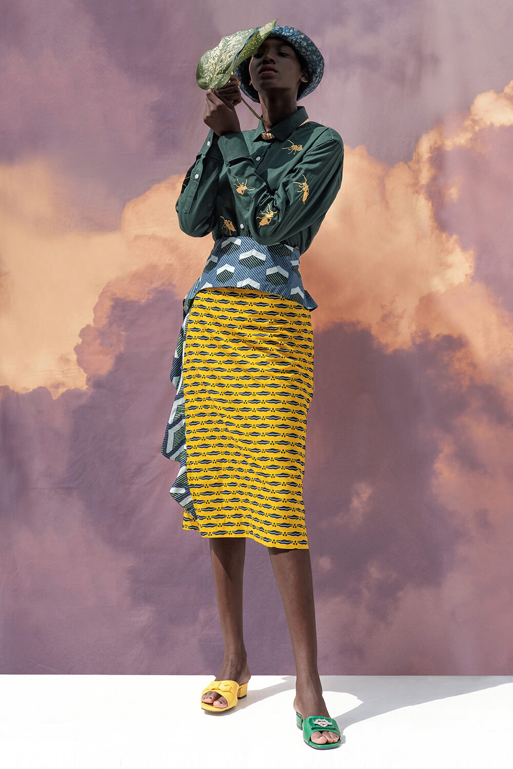 Vlisco&co Lagos - Lookbook Abiola Olusola - Look 04