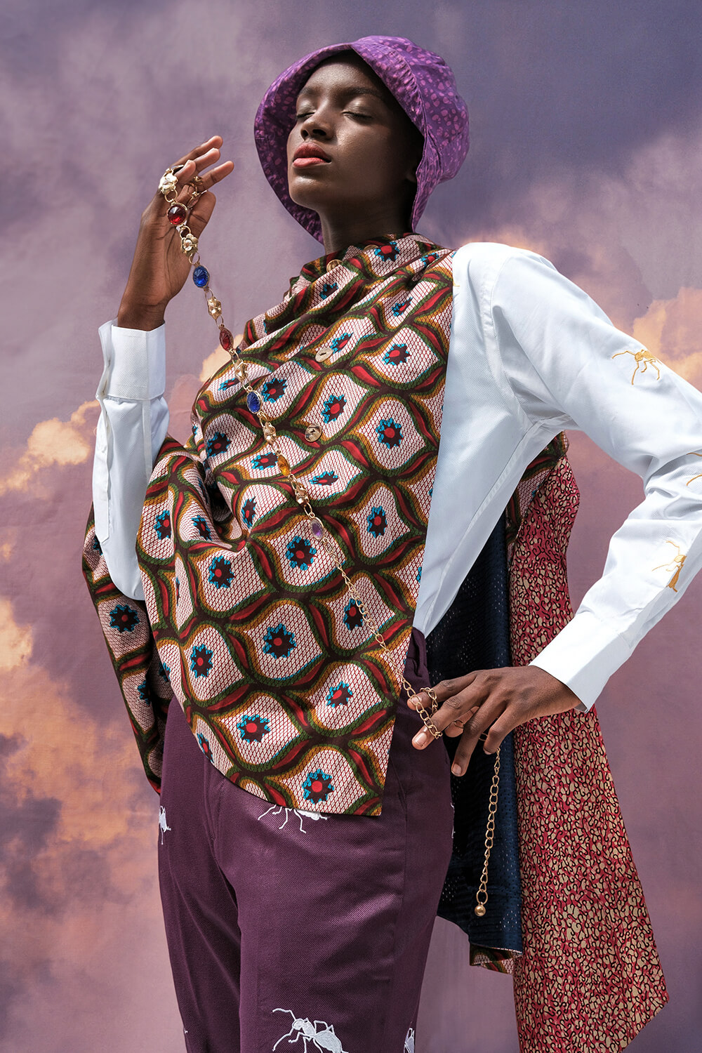 Vlisco&co Lagos - Lookbook Abiola Olusola - Look 05