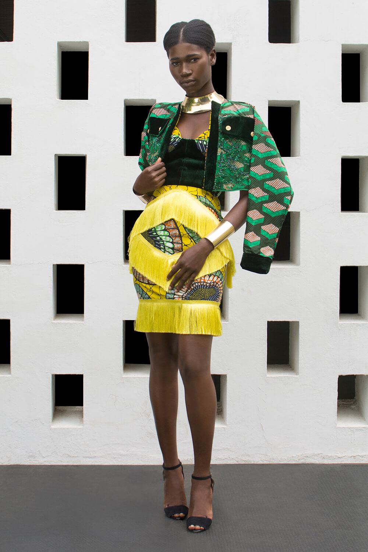 Vlisco&co Accra - House of Paòn - Look 01