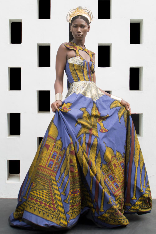 Vlisco&co Accra - House of Paòn - Look 03