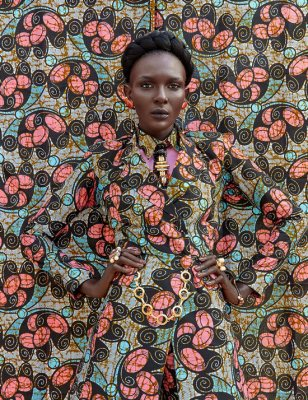 Must-have overcoat Vlisco Lookbook Wax Fantastique