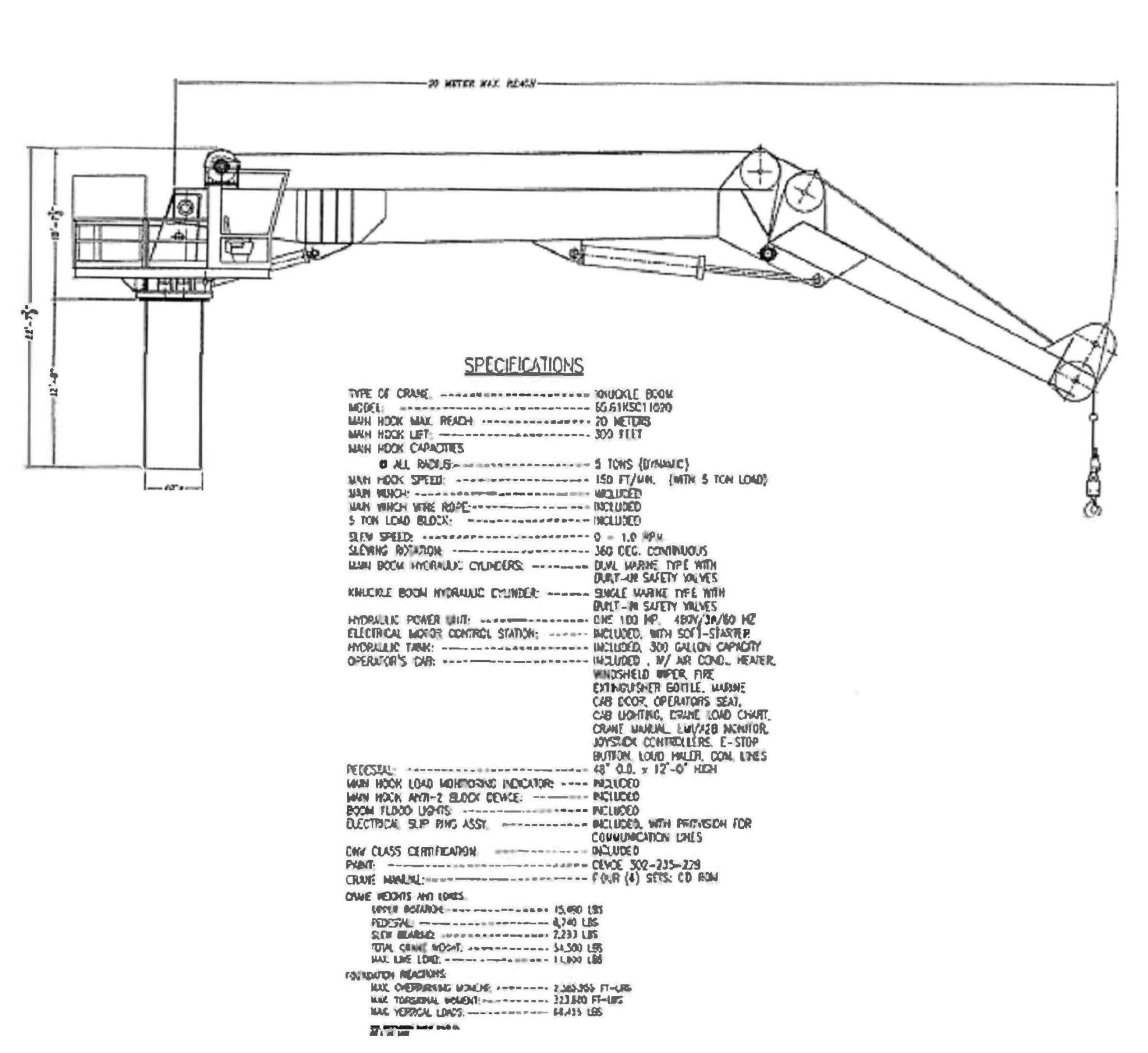 Knuckle Boom Crane Gcc