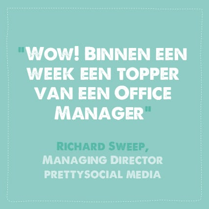Office manager binnen een week