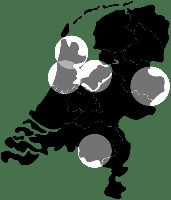 Vlotte Tantes teams locatie