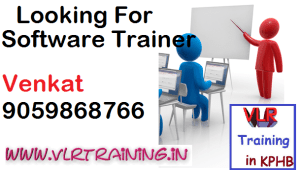 Software Trainer Registration Vlrtraining