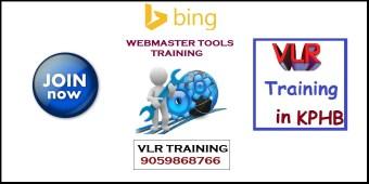 bing webmaster tools online training