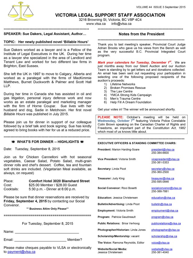 Microsoft Word - VLSA Sept Bulletin