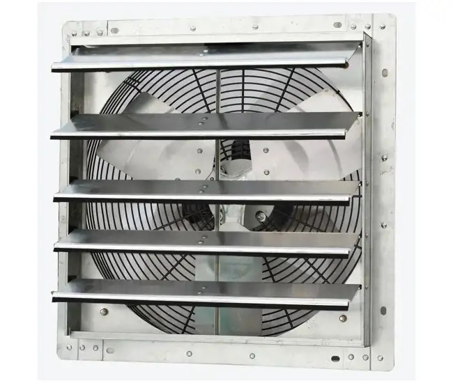 iliving 18 inch variable speed wall mounted shutter exhaust fan