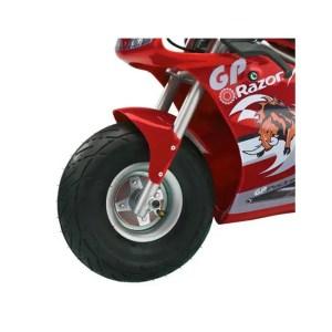 Razor Pocket Rocket 24V Mini Bike Electric Motorcycle, Red