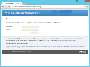 vRealize Orchestrator
